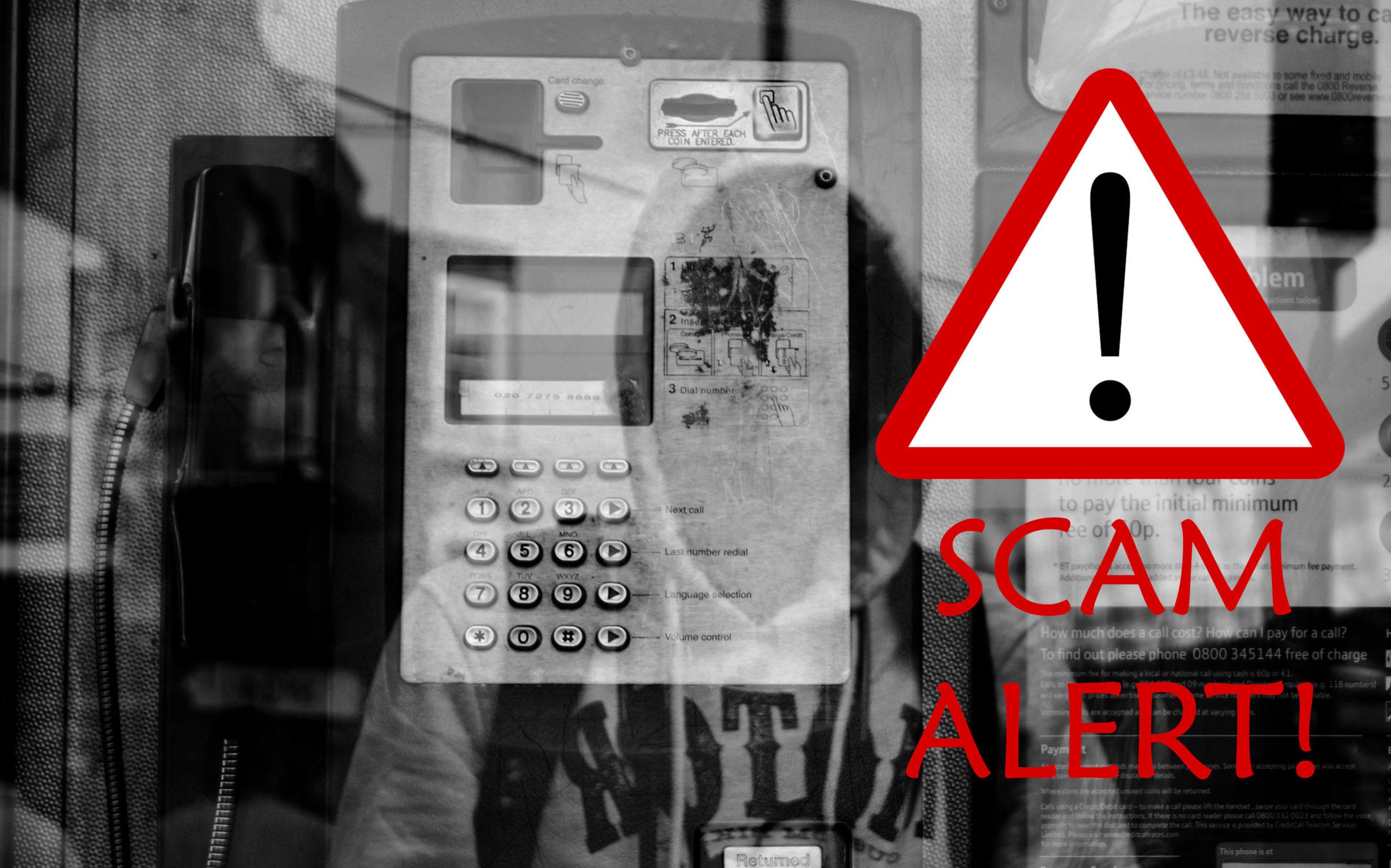 Beware of COVID-19 scams!